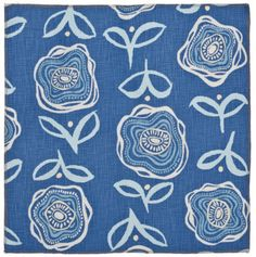 Fabric by Maine Cottage | Ann's Labyrinth:  China Blue #mondayblues