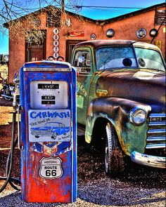 Rustic Route 66 by Diana Graves Photography-      Route 66 Arizona