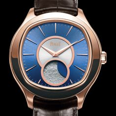 Piaget 自動巻ムーンフェイズウォッチピンクゴールド #watches