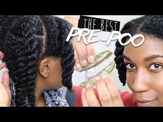 How To Pre-Poo Your Hair With The Raw All Natural Aloe Vera Plant - Black Hair Information