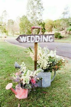 Esküvői dekoráció - Feliratos tábla ötletek