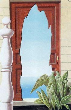 Early morning, 1942 | Rene Magritte