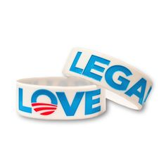 """Legalize Love"" Wristbands"