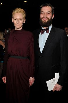 17 years. Tilda Swinton and Sandro Kopp met in 2004 on the set of The Chronicles Of Narnia, in whic he was an extra. Previously, she was living with partner of 15 years John Bryne, father of her twins Honor and Xavier.