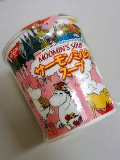 moomin☆サーモンミルクスープ