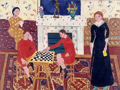 In Issy-les-Moulineaux, in 1911, Matisse depicted a family portrait