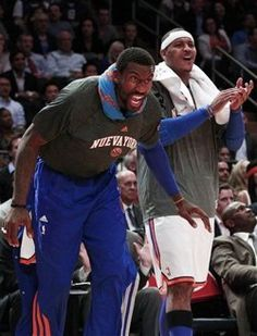 Carmelo Anthony adamant he and Knicks teammate Amar'e Stoudemire can win together
