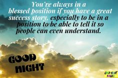 Good Night Blessings, To Tell, Blessed, Positivity, Image, Good Evening Wishes, Good Night Wishes