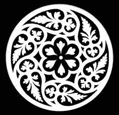 orfebreria con diseño medieval