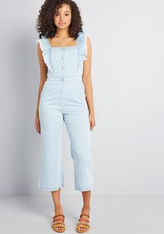 30558a55b9c1 30 Best Chambray Jumpsuit images   Catsuit, Fashion dresses, Overall ...