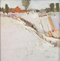 A Good Day for Orange – Dinah K. Worman | Ann Korologos Gallery