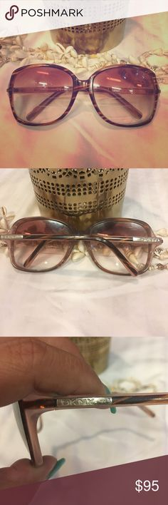 ‼️SALE‼️Vintage DKNY Sunglasses Vintage Sunglasses...has bifocals, but I don't know the prescription. The lenses are scratched but it can be changed. The frames are in good condition. Dkny Accessories Glasses