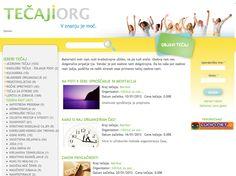 Portal aktualnih tečajev in delavnic http://tecaji.org/