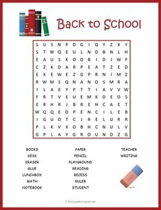 Use this word search puzzle featuring terms from the classroom as in ice breaker activity during the first week of school.  Kids love to hunt down the hidden words in these…