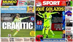 Barcelona Stars : Iniesta Back and sparkling Rakitic Barcelona, Sparkle, Baseball Cards, Stars, Sports, Barcelona Spain, Sterne