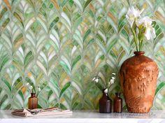 Margot Mosaic Entry | New Ravenna Mosaics