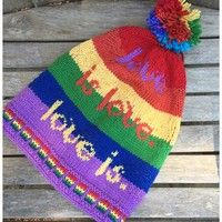 Ravelry: Love is. A Hat for Orlando. pattern by Lisa McFetridge Knitting Patterns Free, Free Knitting, Baby Knitting, Knitting Ideas, Knit Patterns, Quick Knitting Projects, Lisa, Lion Brand Wool Ease, Sew In Weave