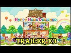 ANIMAL CROSSING HAPPY HOME DESIGNER - TRAILER E3