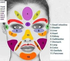 Face Massage Chart!