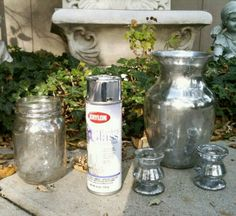 For the die hard mercury glass lovers like me, this is a must try DIY! I'll be breaking out the mason jars this weekend!