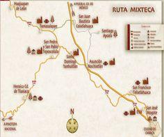 Ruta de la Mixteca.