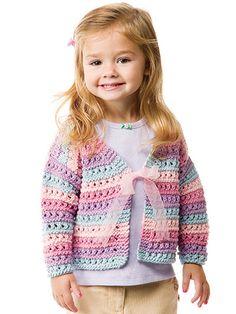 Knitting - Lacy Stripe Cardigan