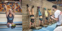 Static holds for Crossfit training.