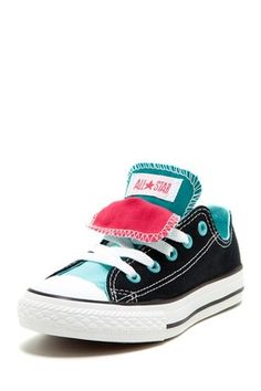 b868bd060 Double Tongue Sneaker. Love the color combo. So cute. Cute Converse