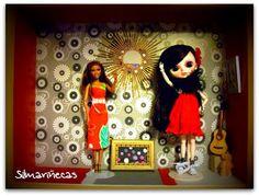 Olivie y Barbie, tienen nuevo cuadro en la pared