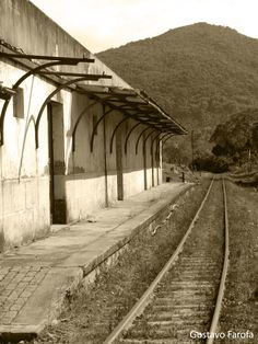 Antiga estação da Cascata.
