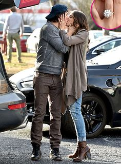 Nikki Reed gave the world a peek of her massive engagement ring from fiance Ian Somerhalder on Feb. 3, in Atlanta