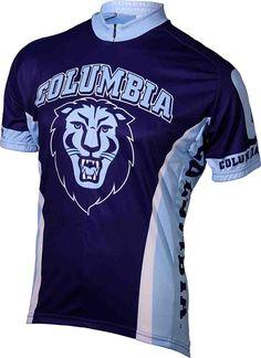 Columbia University Cycling Jersey Bike Shirts d4b412539