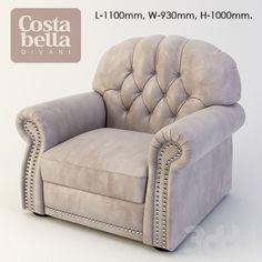 кресло Costa Bella Роял