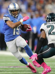 Eagles vs. Lions:  24-23, Lions, October 9, 2016  -       Lions receiver Golden Tate makes a first down catch to set up the winning field goal late in the fourth quarter against the Philadelphia Eagles on Sunday, Oct. 9, 2016 at Ford Field in Detroit.  Kirthmon F. Dozier, DFP