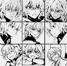 i legit have an album of mika manga screenshots and im heppi Manga Art, Manga Anime, Anime Art, Mika Hyakuya, Weak In The Knees, Seraph Of The End, Owari No Seraph, Killua, Wattpad