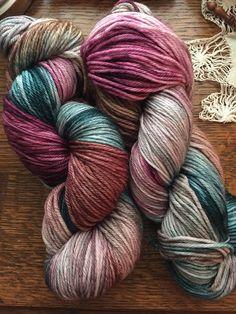 Hand Dyed Yarn | Dreams | Sport Weight Merino Wool/Nylon yarn, 274 yards