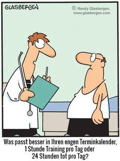 Fitness ist Zeitmanagement... :)