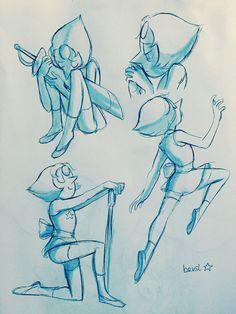 Pearl ||| Steven Universe Fan Art by bevsi on Tumblr