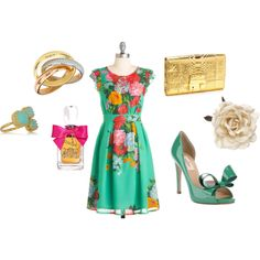 Perfect spring tea party outfit