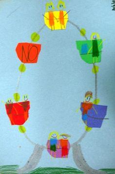 Color Ferris Wheels - Artsonia Lesson Plan