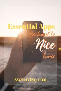 13 Essential Free Apps for Travel to Nice, France | SWTliving Europe Travel Outfits, Travel Tips For Europe, Travel Advice, Travel Destinations, France Photography, Visit France, Nice France, Travel Products, Worldwide Travel