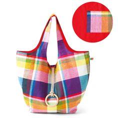 Pretty madras bag.