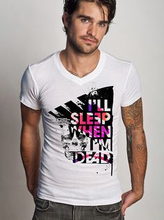 be a trend setter instantly, when seen wearing this tee from www.johnnystrada.com $24.95