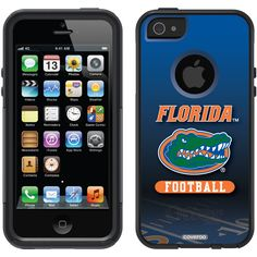 University of Florida - Football Field Florida design on OtterBox® Commuter Series® Case for iPhone 5 in Black