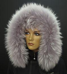 Kožešinový lem na kapuci z mývalovce v barvě SILVER - pravá kožešina, kterou si sami můžete dle našeho návodu připevnit na Vaši bundu #real#fur#prava#kozesina##na#kapuci#spongr#kuzedeluxe#myvalovec#finnraccoon Fur Coat, Jackets, Fashion, Down Jackets, Moda, Fashion Styles, Fashion Illustrations, Fur Coats, Fur Collar Coat