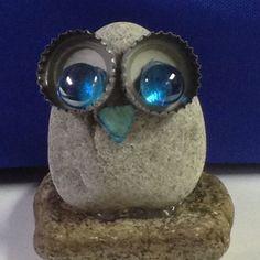 # Stone Owl with stones Stone Owl . # Stone Owl - Stone owl … owl with stones Stone owl … owl - Crafts To Make, Arts And Crafts, Homemade Crafts, Owl Rocks, Rock Sculpture, Garden Sculpture Art, Sculpture Ideas, Deco Nature, Rock Painting Designs