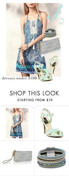 """""""dress"""" by masayuki4499 ❤ liked on Polyvore featuring MKF Collection and Design Lab"""