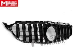 Front Grille Grill GTS Look ABS Gloss Black Add on GT R AMG Style For Mercedes C Class W205 C205 Sport Coupe C63 2015-2018: Amazon.co.uk: Kitchen & Home