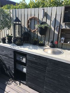 Outdoor Sinks, Outdoor Rooms, Outdoor Gardens, Outdoor Living, Outdoor Furniture Sets, Outdoor Decor, Outdoor Grill Station, Outdoor Cooking Area, Backyard Projects