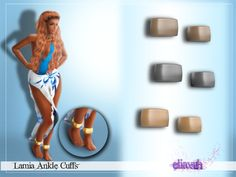 "eliavah:  ღ Lamia Ankle Cuffs ღ congratulations! you've received a secret download. you more than likely came here from sending me a message saying ""potato salada"". sometimes when sending me that message after I just released a CC you will be linked to a bonus item! in this case you have gotten these sweet ankle cuffs. Usually the bonus item will go with the most recent CC I released. if most recent is Sims 3 you'll get a Sims 3 bonus item, if it's Sims 4 you'll get a sims 4 bonus item, in…"